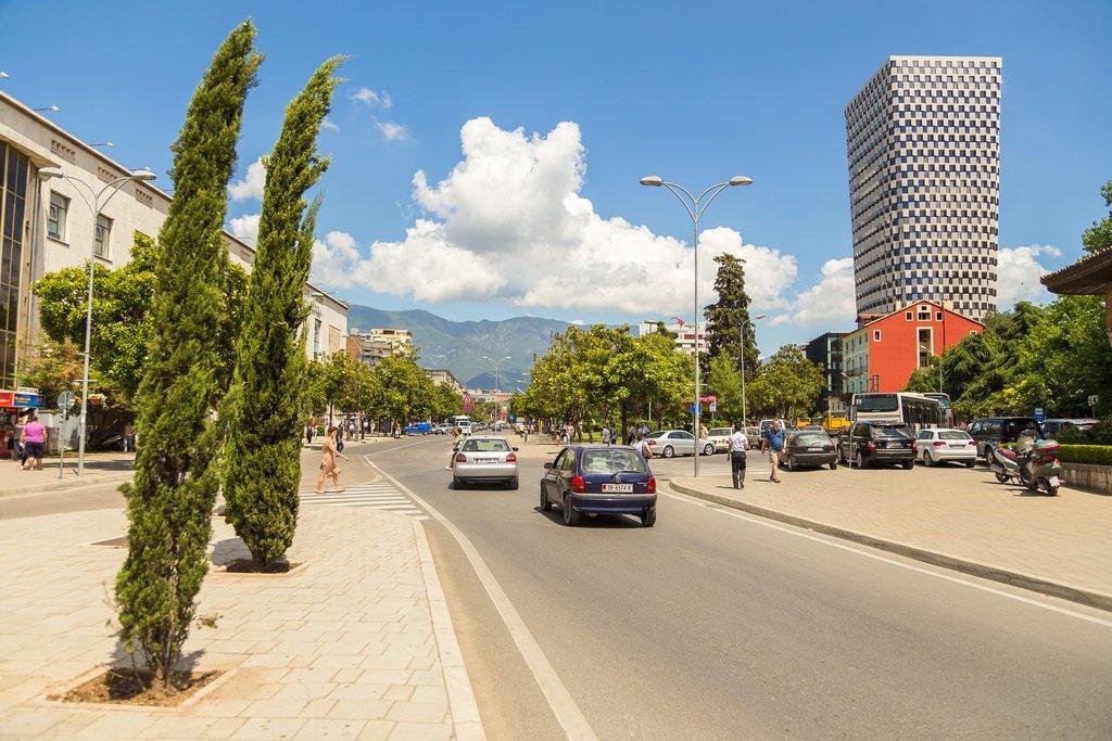 Tirana, Albania's capital