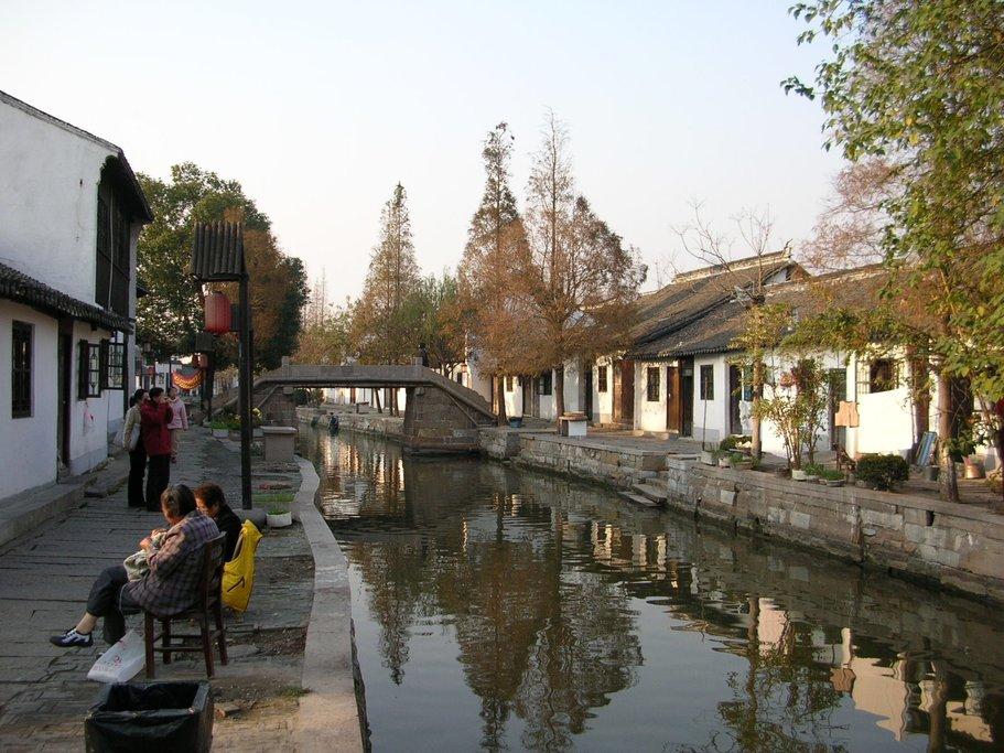 Zhujiajiao is a 1,700-year-old water town
