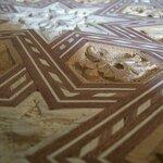 Inlaid Wood Details - Photo by Schlanger