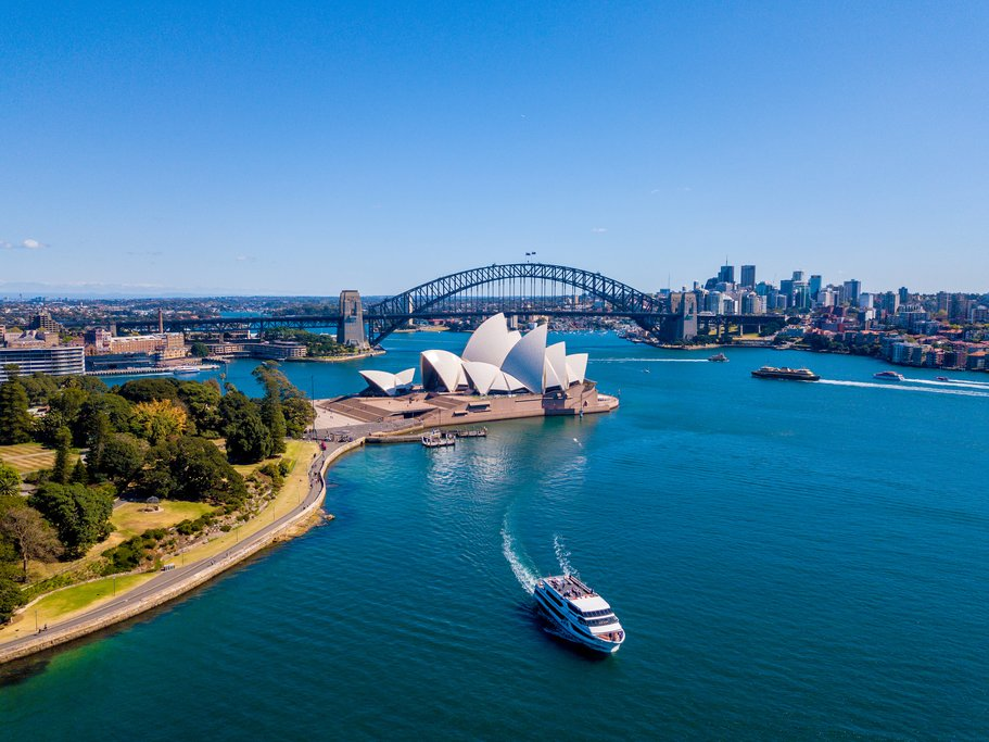 Marvel at Sydney's iconic Opera House