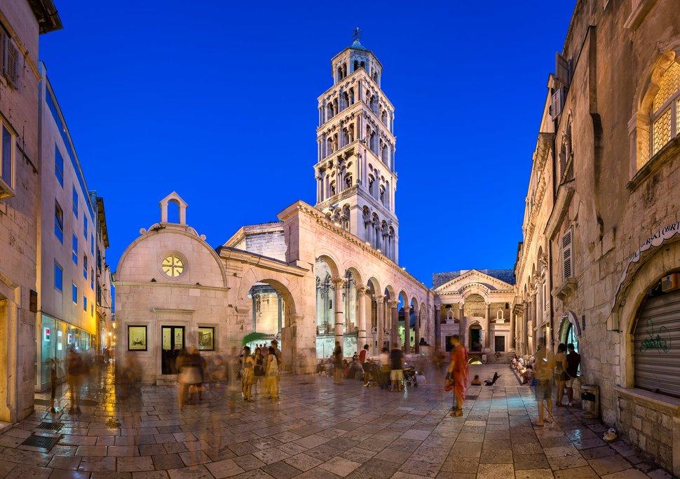 Old Town of Split, Croatia