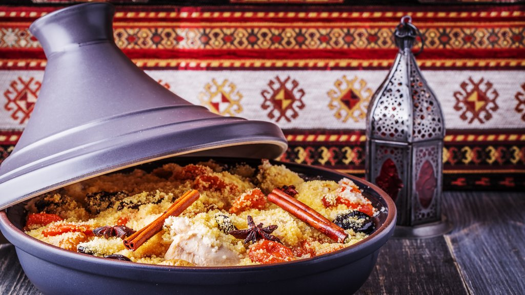 A traditional Tajine
