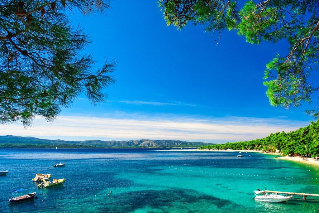 Croatia - Brač - Bol's Zlatni Rat beach