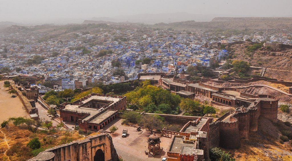 Jodphur is also known as the Blue City