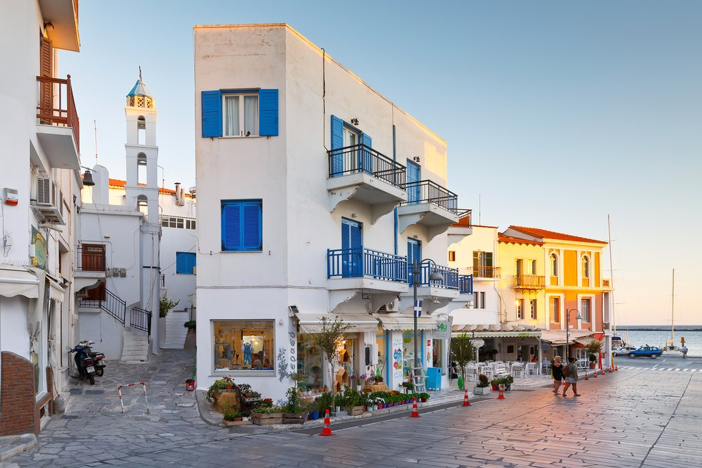 Beautiful Buildings on Tinos Island