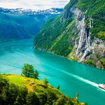 The beautiful Geirangerfjord