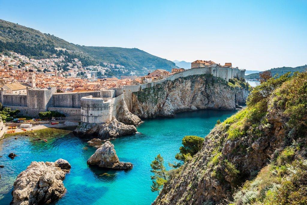 Bokar fortress, Dubrovnik, Croatia
