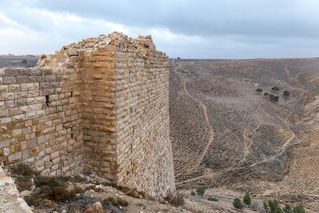 Jordan - Shoubak - Ash Shoubak fortress