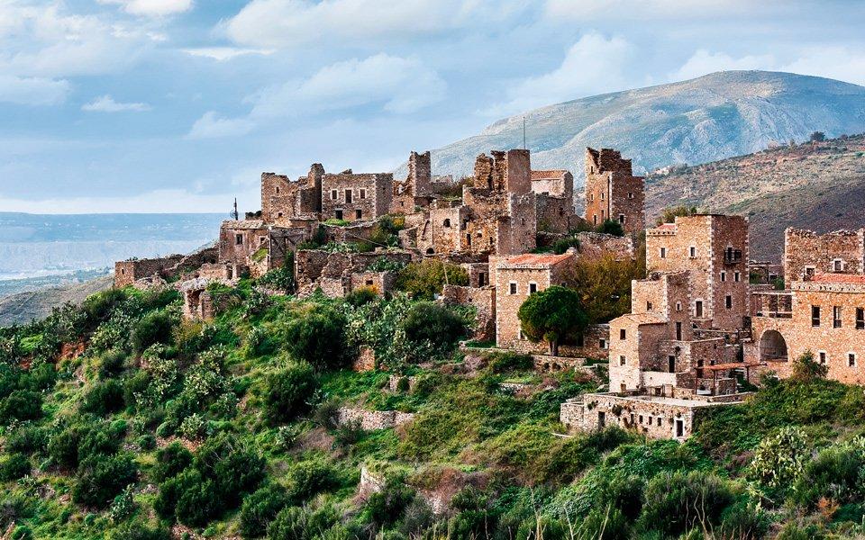 The Historic Town of Vathia