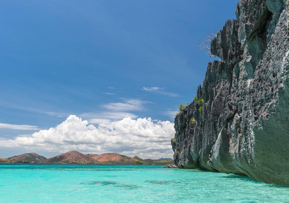 Coron Island beach