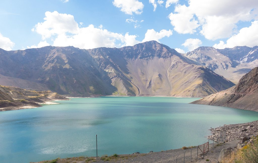 The Embalse de Yeso, in the Maipo Valley