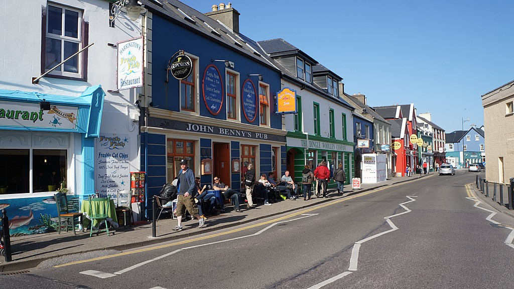 Part of Dingle Town