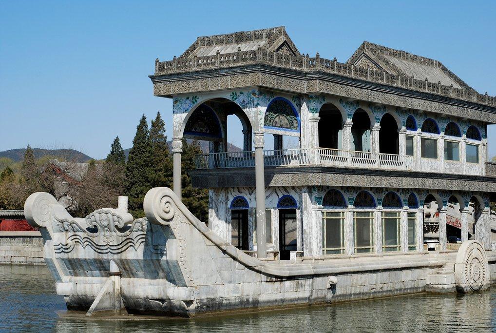 Enjoy a peaceful stroll through the Summer Palace