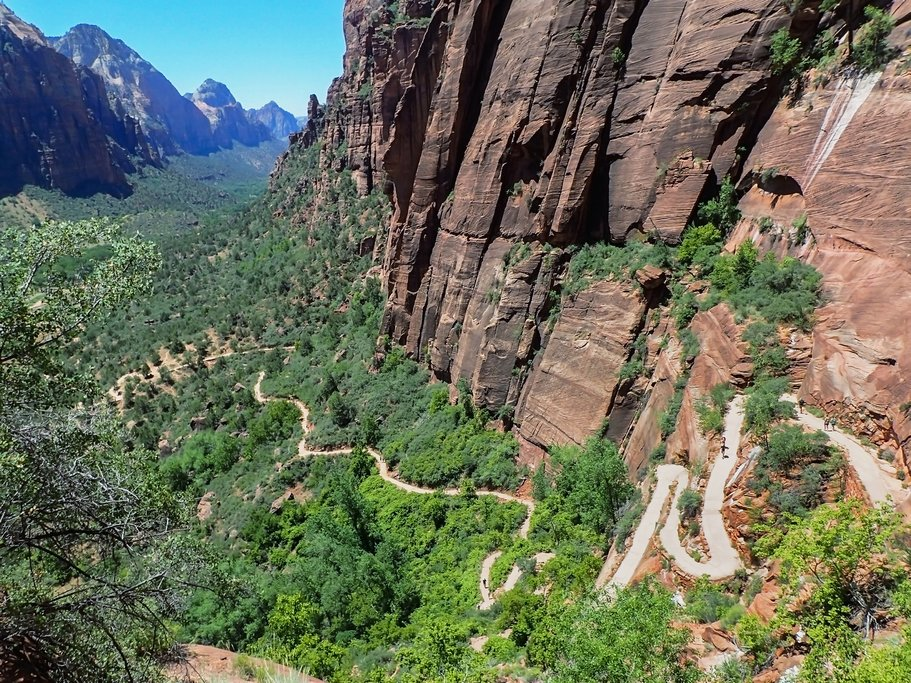 Angel's Landing Trail, Zion National Park, Utah