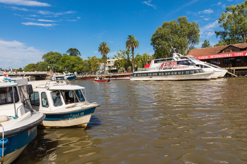 The canals of Tigre