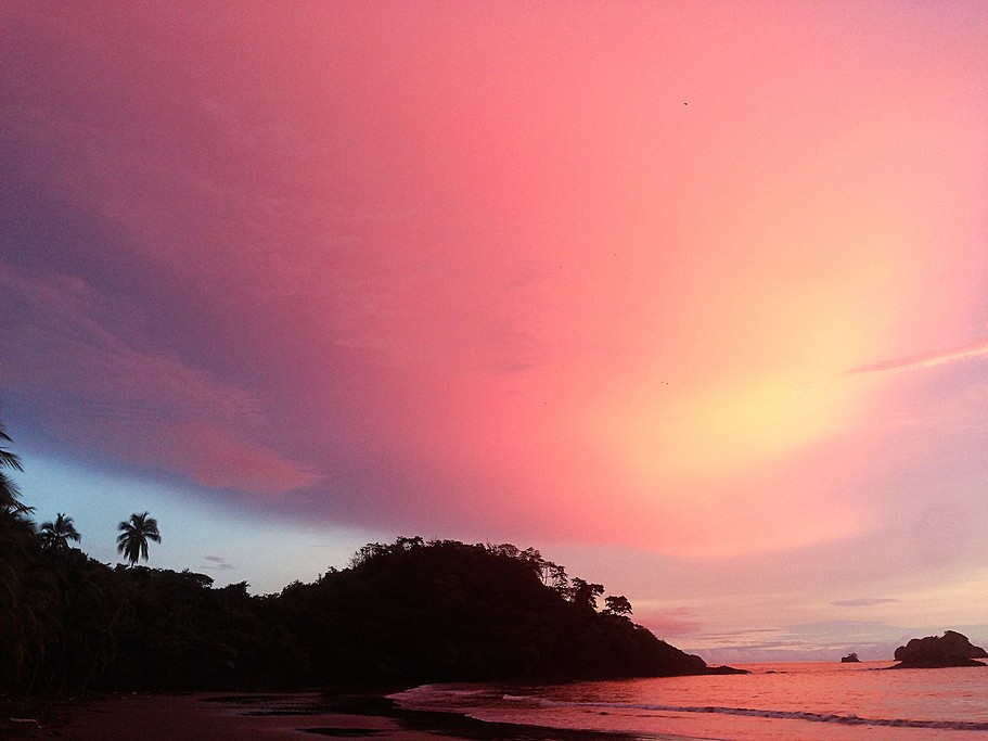 Sunset in Santa Catalina