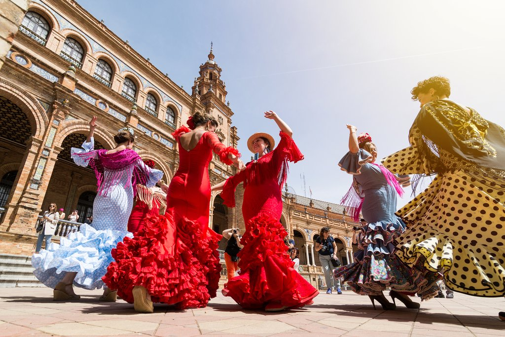In Spain, flamenco is an art