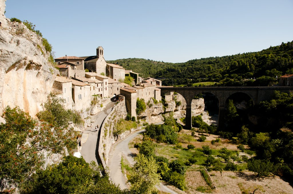 Old stone village of Minerve