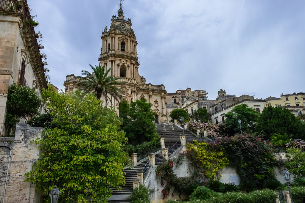 Italy - Sicily - Modica - Duomo di San Giorgio -