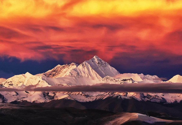 Sunrise over Mt. Everest