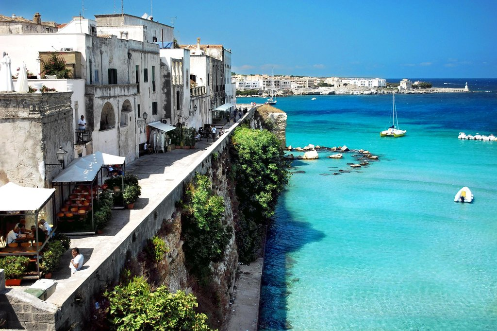 Otranto Along the Adriatic Coast