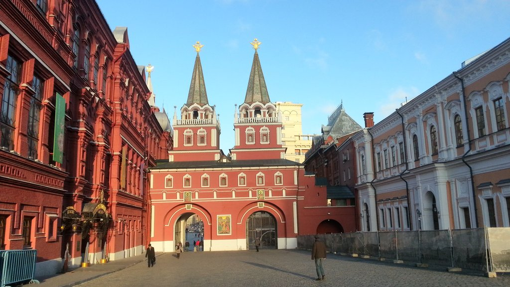 Resurrection Gates to Red Square