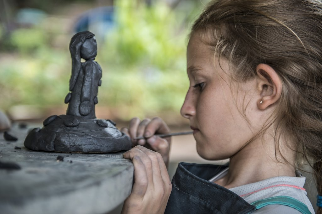 Modelling your own clay work-of-art