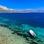 Stop for a swim along Korcula's coastline