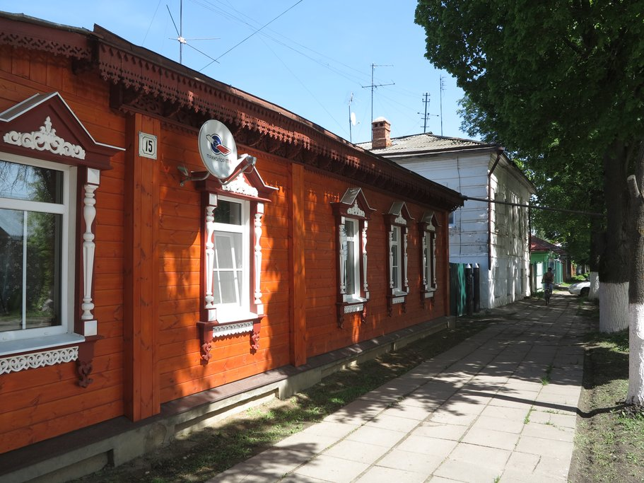 Typical house in Suzdal
