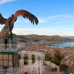 The lakeside city of Puno