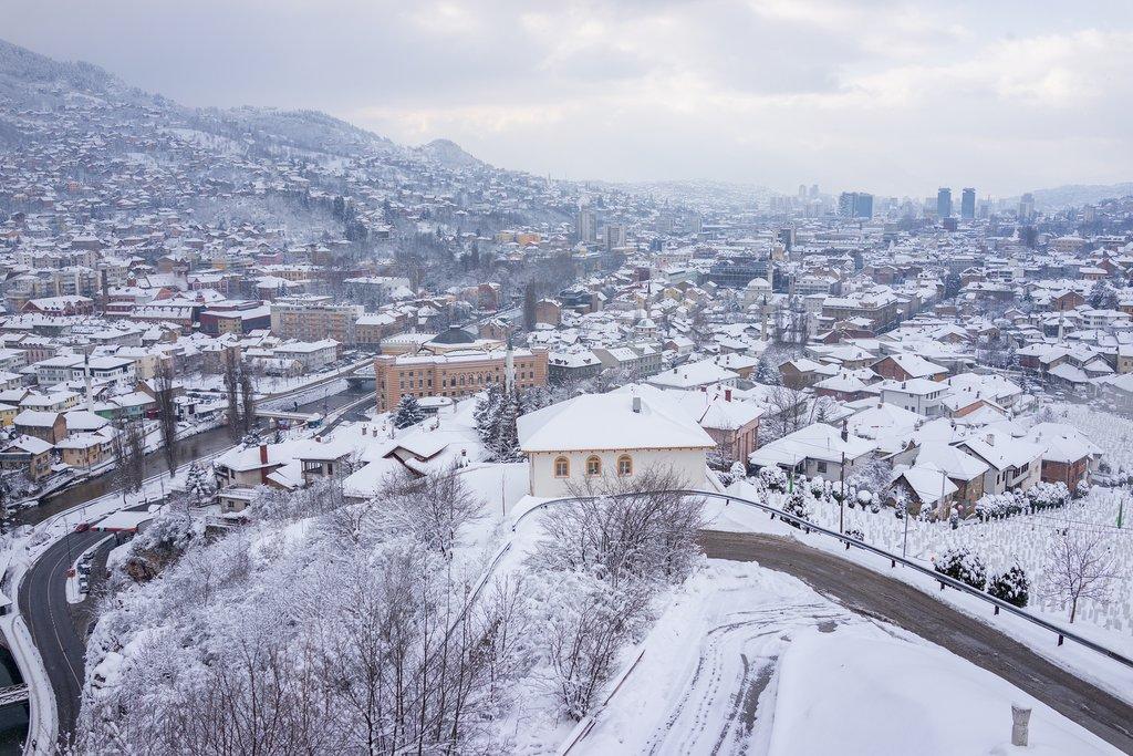 Bosnia Herzegovina - Sarajevo - winter