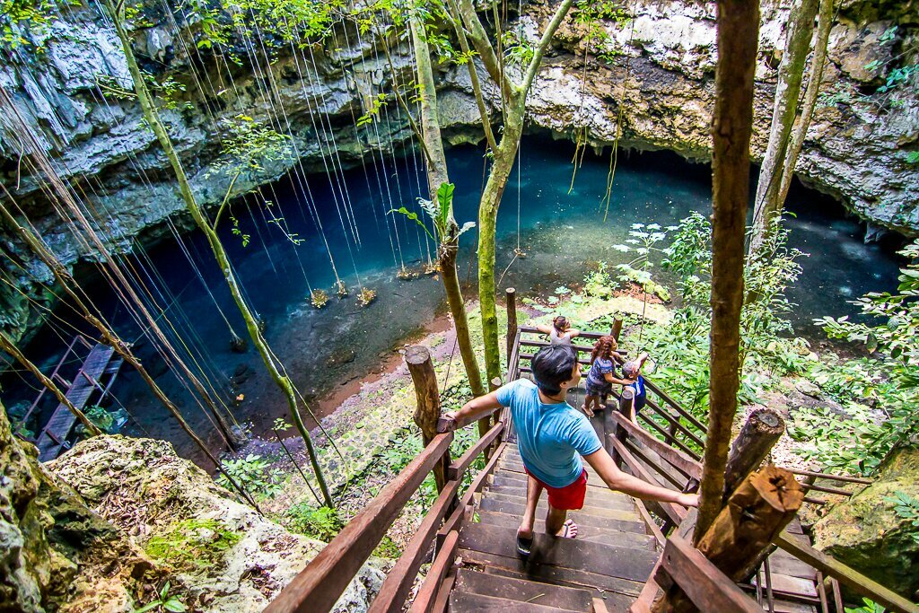 Exploring the Cenotes