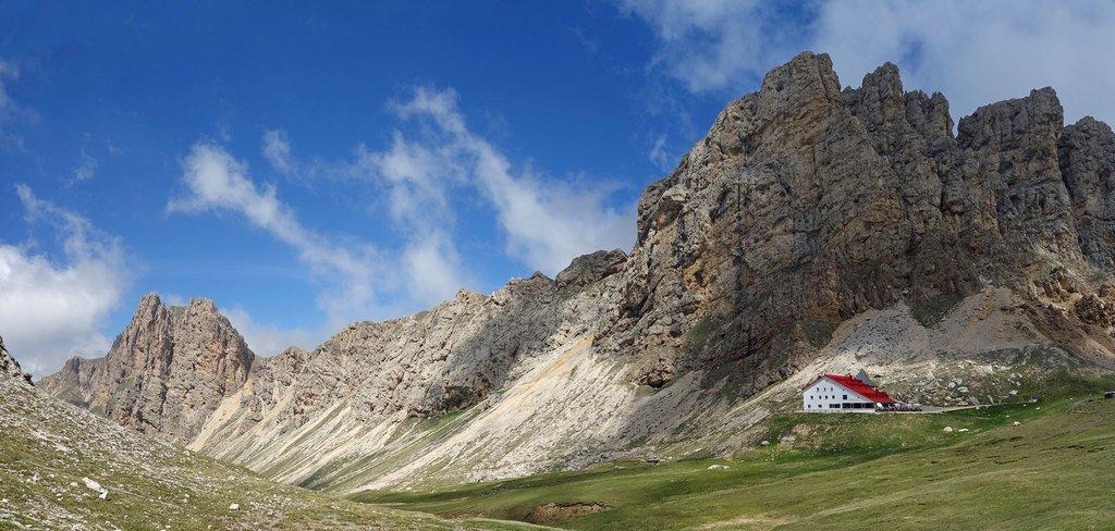 Alpe di Tires Hut