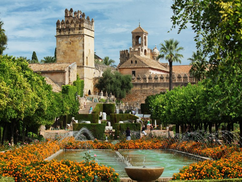 Gardens of Cordoba's Alcazar
