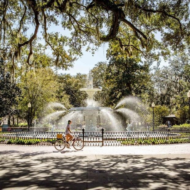 Forsyth Park, courtesy of Visit Savannah