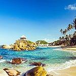 "Cabo San Juan, the ""postcard image"" of Parque Tayrona"