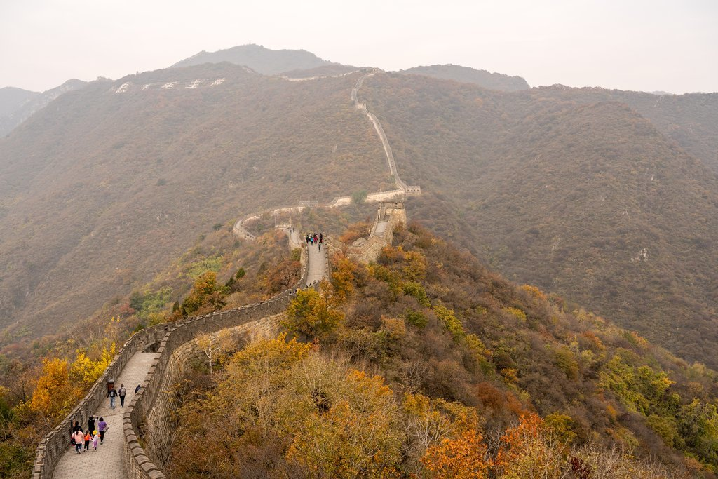 How to Get from Shanghai to Great Wall of China