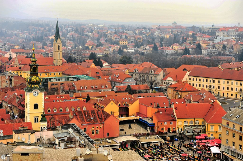 Zagreb is Croatia's capital and largest city