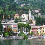 Small town on Lake Garda