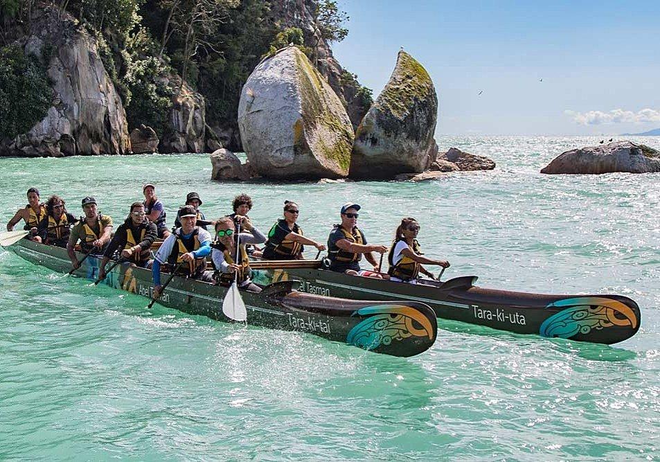 Go canoeing in Abel Tasman National Park