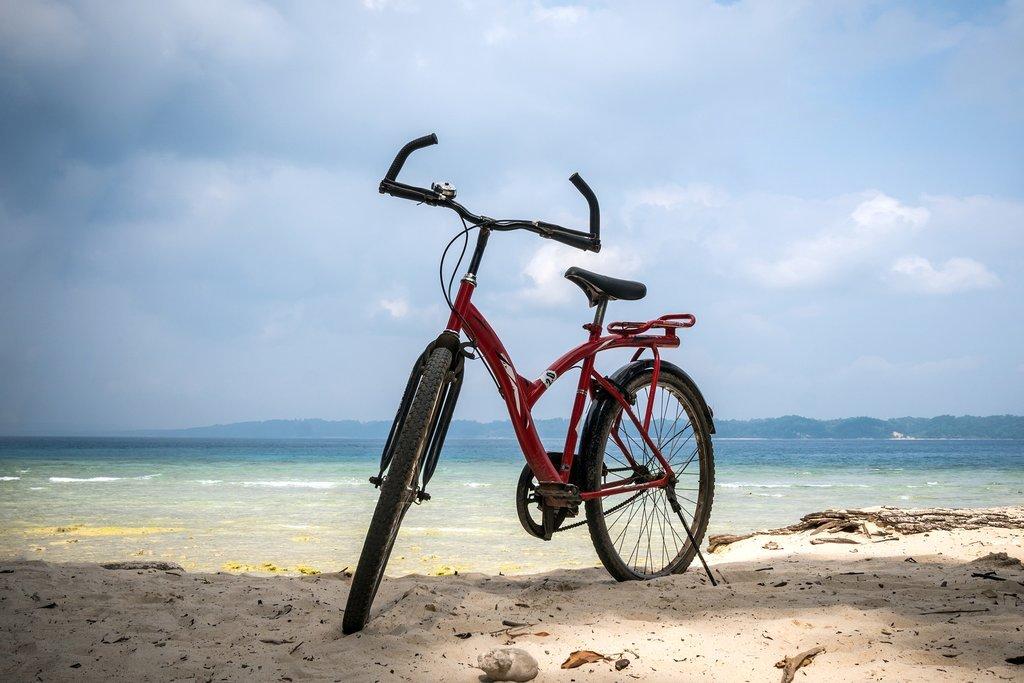 Beach Cycling