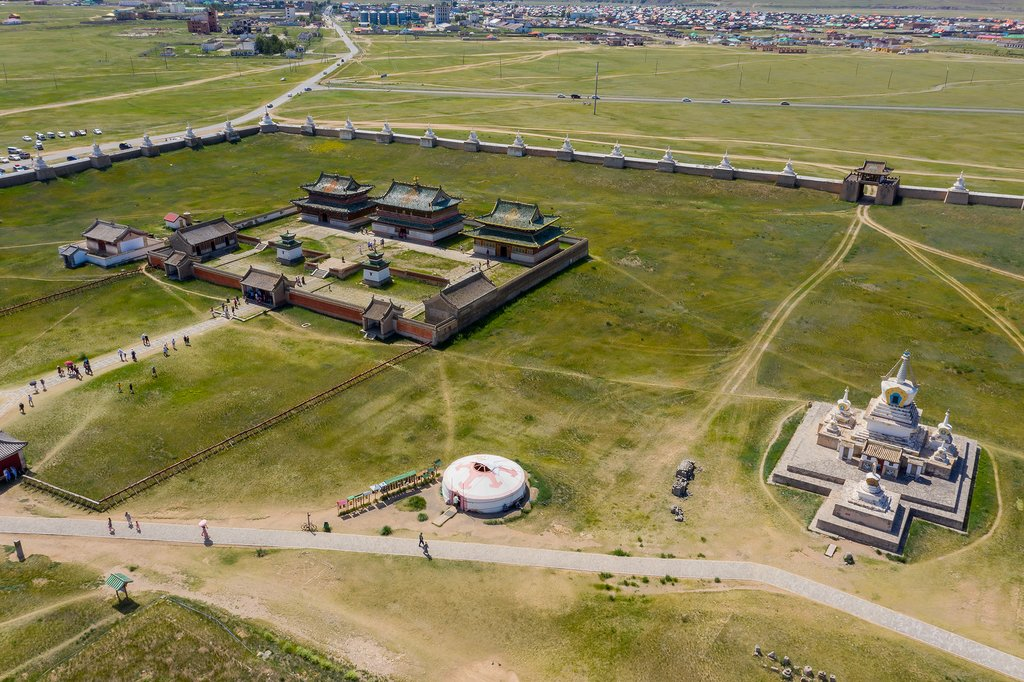 Visit the ancient capital of the Mongol Empire in the 13th Century