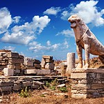 The Terrace of the Lion on Delos Island