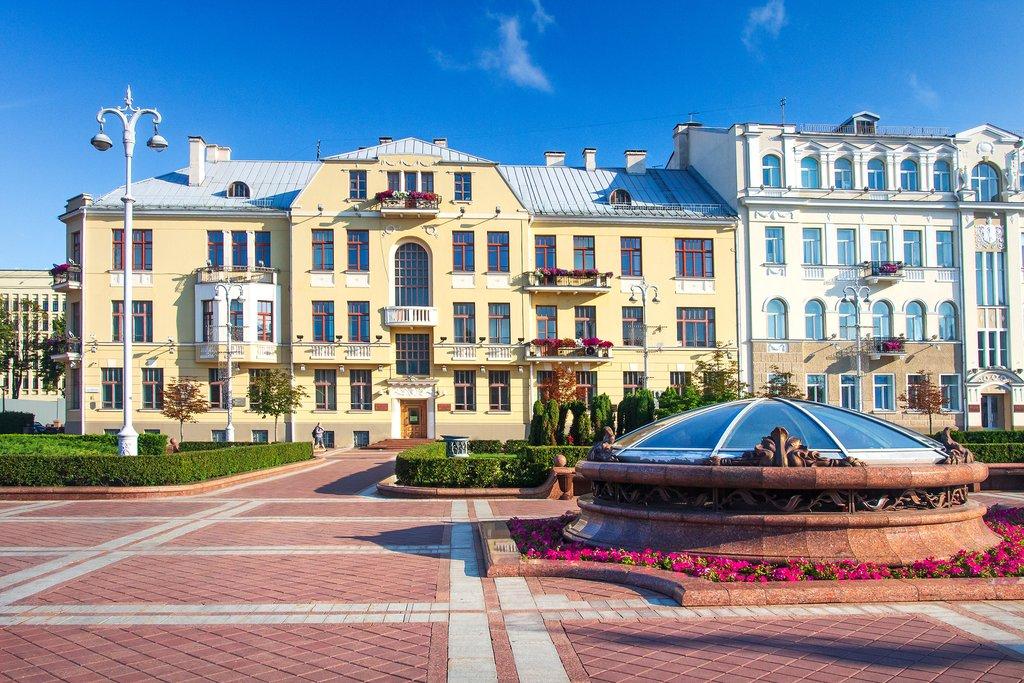 Independence Square, Minsk, Belarus