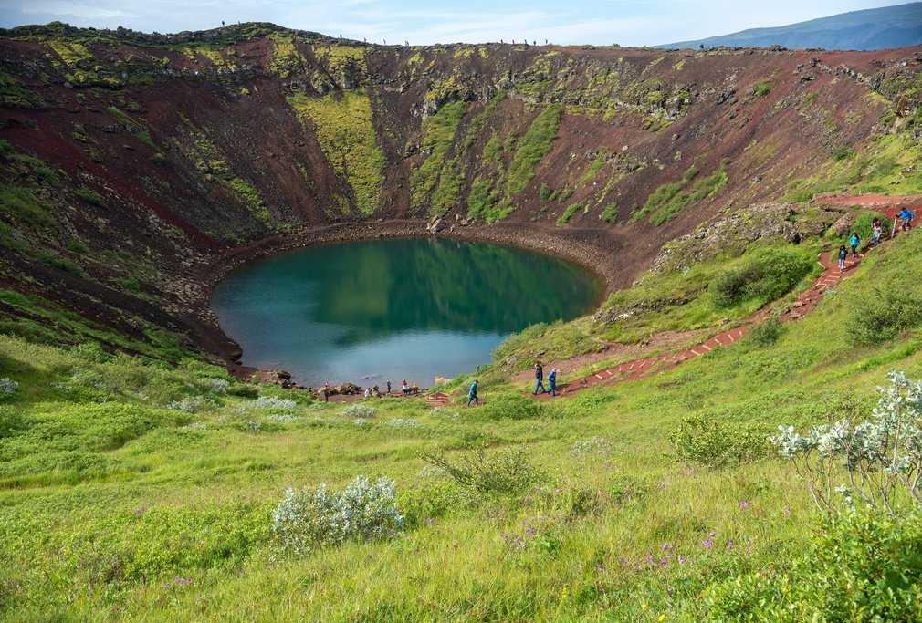 Kerid Crater makes a great stop before heading back to the city