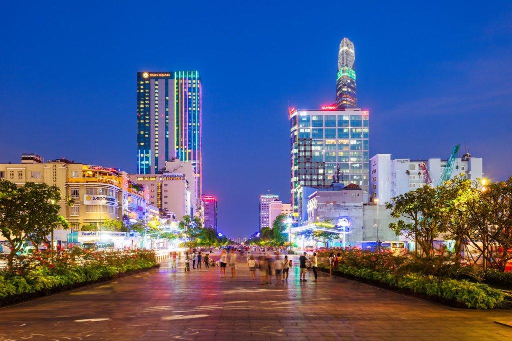 Ho Chi Minh City Skyline, Vietnam