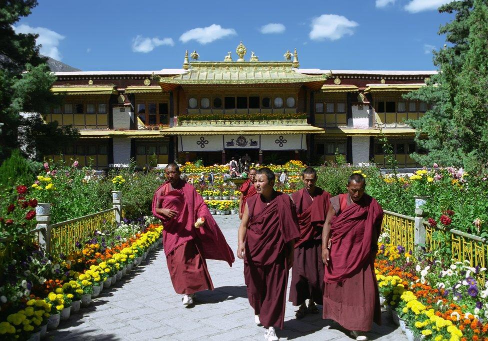 Norbulingka, the Dalai Lama's summer residence