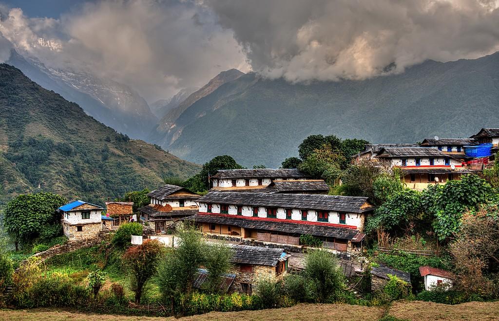 The village of Ghandruk