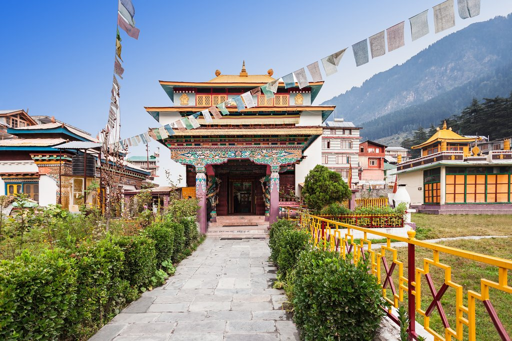 A Tibetan Monastery in the area