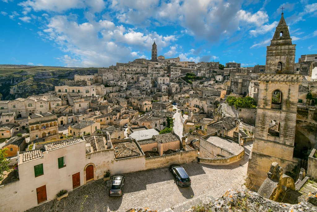 The historic old town of Matera